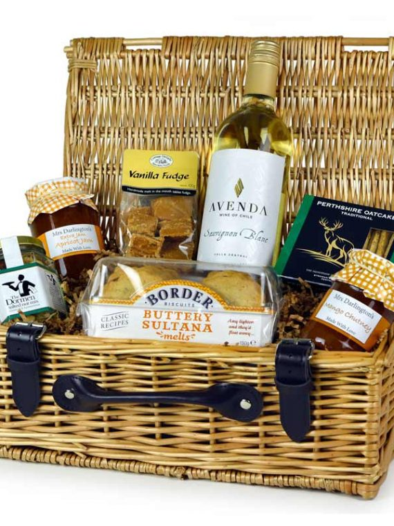 Any Occasion Hamper with White Wine by Hampers in London