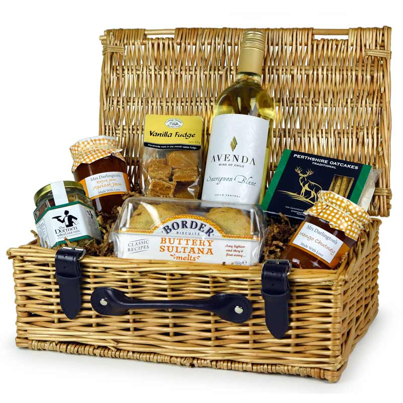 Products archive hampers market any occasion hamper with white wine by hampers in london negle Choice Image