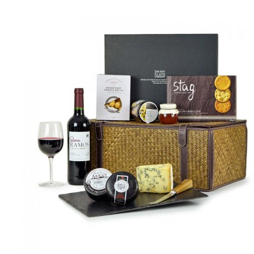 Cheese & Wine Hampers