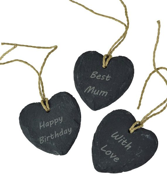 Hampers in London Personalised Slate Gift Tag