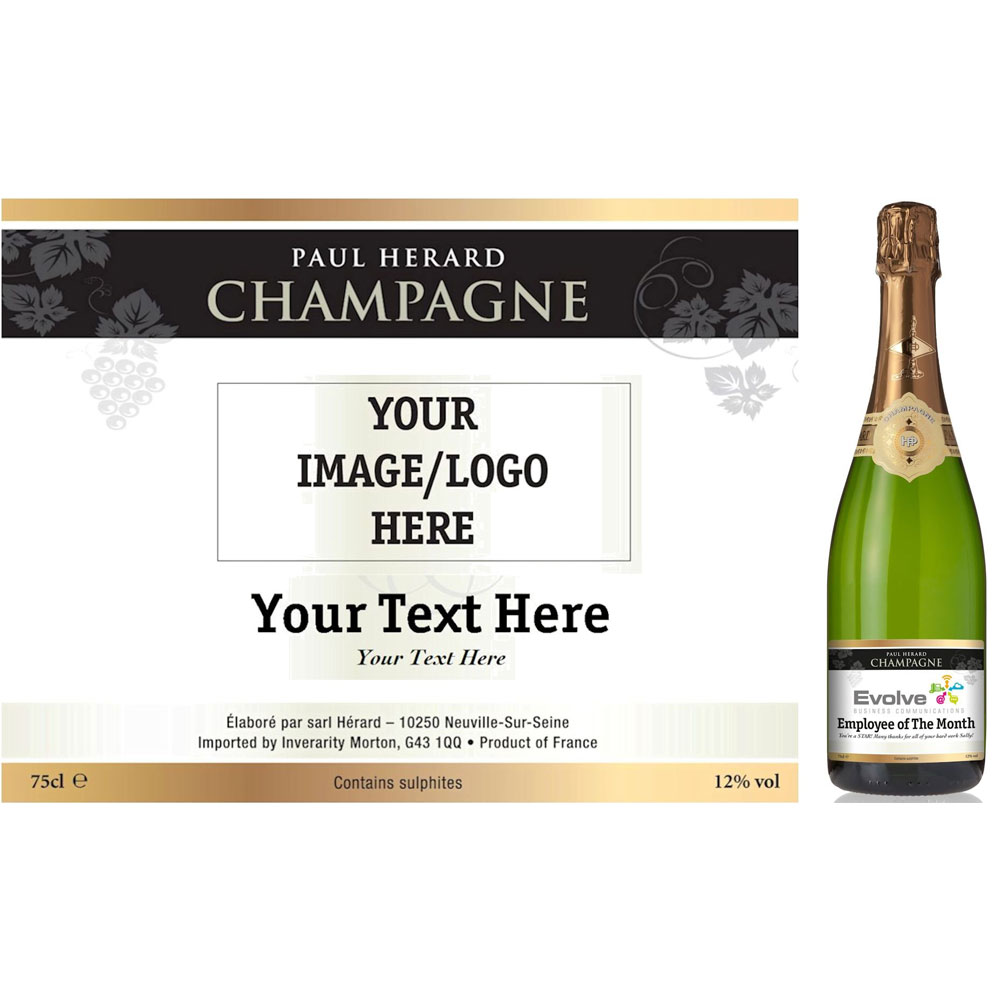 Personalised Champagne Gifts